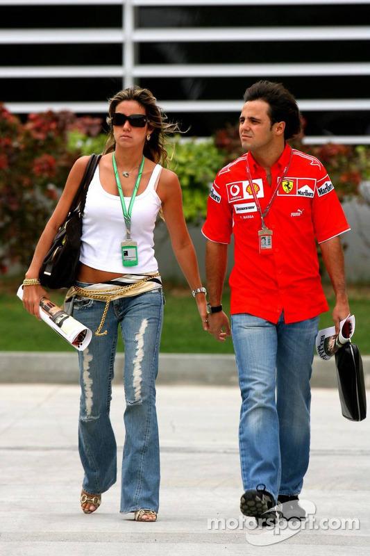 Felipe Massa et sa petite amie Rafaela Bassi