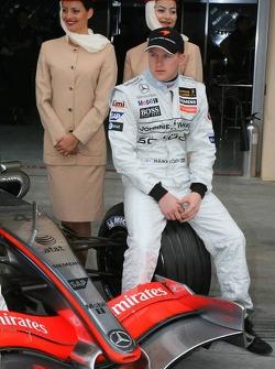 McLaren announces Emirates as a new sponsor: Kimi Raikkonen