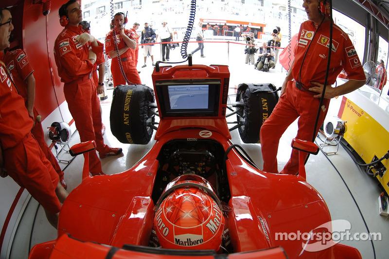 2006 Bahrain GP, Ferrari 248 F1