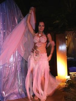An exotic dancer