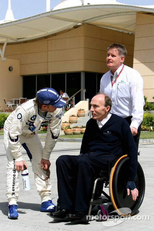 Nick Heidfeld y Frank Williams