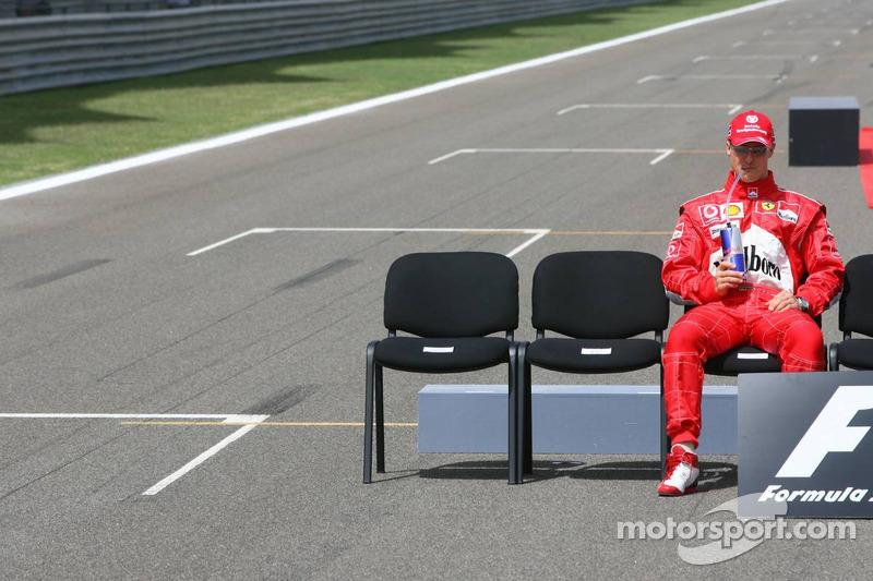 Foto de pilotos: Michael Schumacher