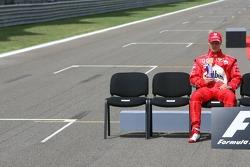 Drivers photoshoot: Michael Schumacher
