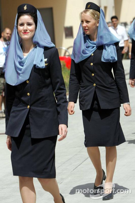 Chicas Gulf Air