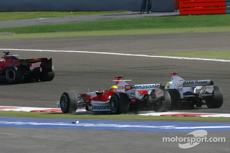Ralf Schumacher y Nick Heidfeld