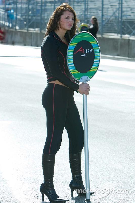 Mazda Raceway Laguna Seca >> Team Brazil Grid Girl at Laguna Seca