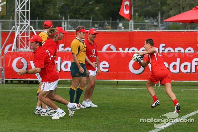 Vodafone Rugby 7s Challenge: Michael Schumacher