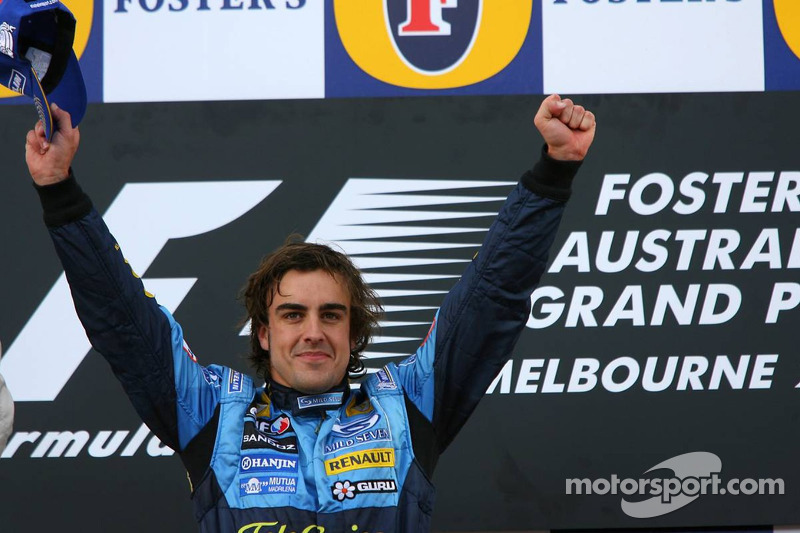 Fernando Alonso (Renault), ganador GP Australia 2006