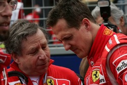 Jean Todt y Michael Schumacher