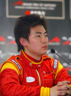 Tengyi Jiang (CHN) A1 Team China in the press conference