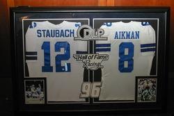 Hall of Fame Racing autographed jerseys
