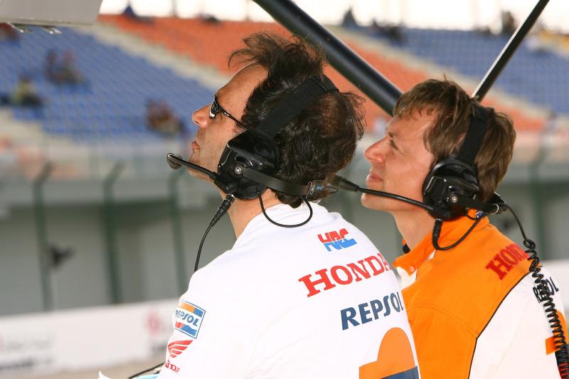 Alberto Puig et Mike Leitner
