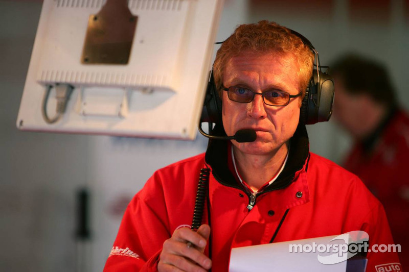 Ingénieur de course de Stefan Mücke