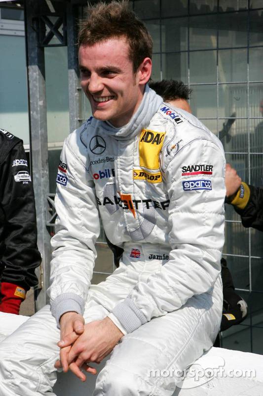 Pole position pour Jamie Green