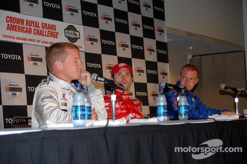 Conférence de presse: Luis Diaz avec Patrick Long et Jan Magnussen