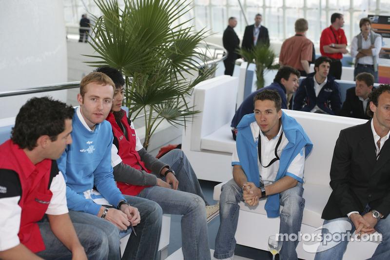 Clivio Piccione, Olivier Pla et Timo Glock