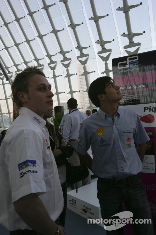Adam Carroll et Nelson A. Piquet
