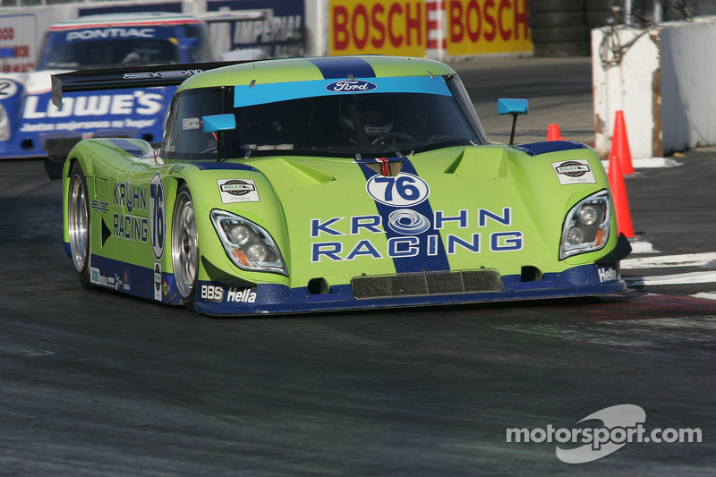 #76 Krohn Racing Ford Riley: Jorg Bergmeister, Colin Braun