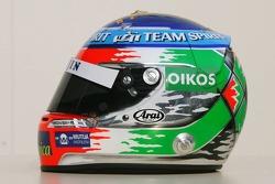 The new helmet of Giancarlo Fisichella