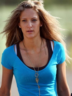 Franziska girlfriend of Christian Klien