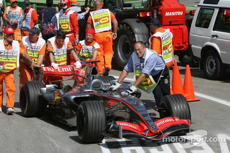 Voiture de Kimi Räikkönen