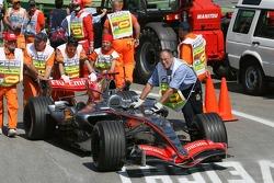 Car of Kimi Raikkonen