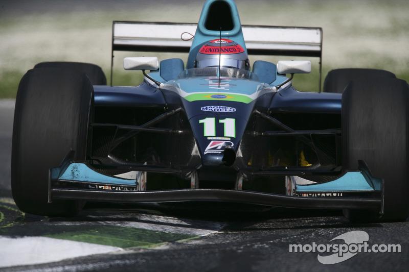 Nelson A. Piquet, nez de la voiture endommagée