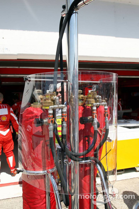 Station de ravitaillement de Ferrari