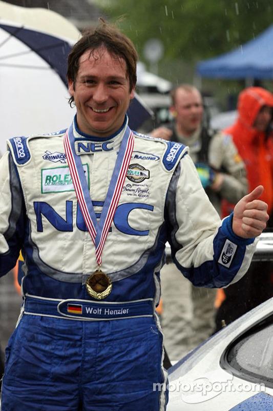 Le vainqueur de la course Wolf Henzler