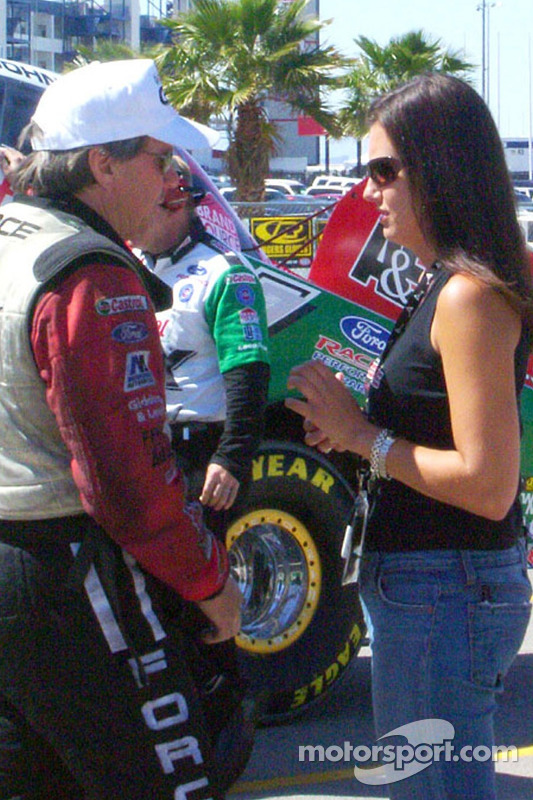 John Force et Ashley Force
