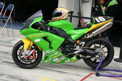L'équipe moto Raffin