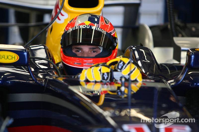 Essais de Vitantonio Liuzzi pour Red Bull Racing