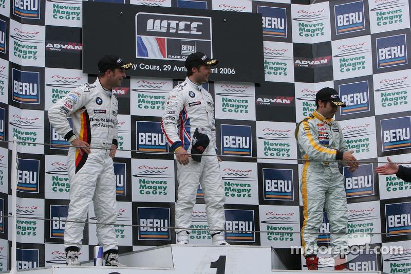 Premier: Andy Priaulx; deuxième: Jorg Muller; troisième: Jordi Gene