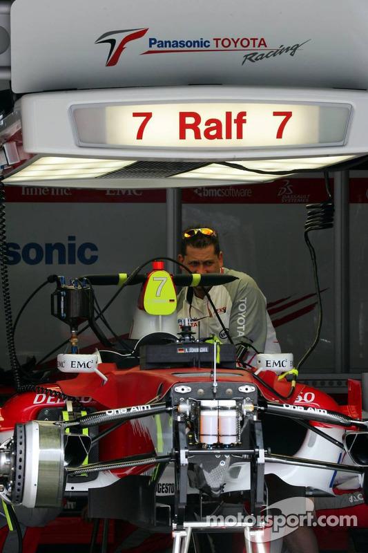 Voiture de Ralf Schumacher