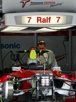Car of Ralf Schumacher