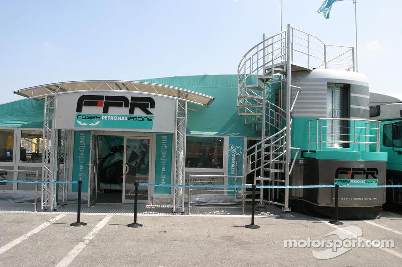 La zone d'hospitalité Petronas