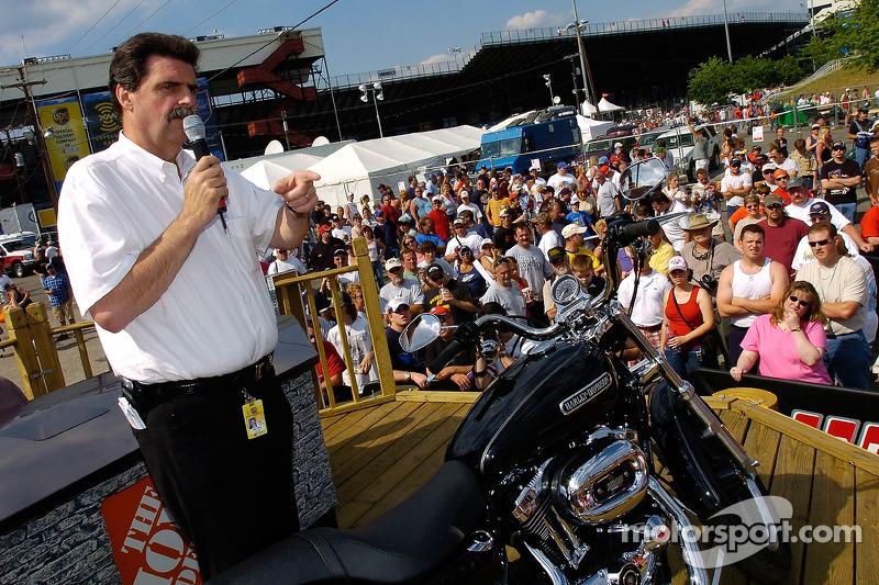 Président de la NASCAR Mike Helton