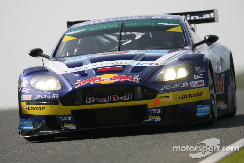 #33 Race Alliance Aston Martin DBR9: Karl Wendlinger, Philipp Peter