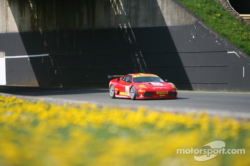 #59 AF Corse Ferrari 430 GT2: Matteo Bobbi, Rui Aguas