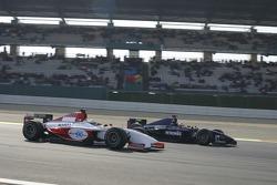 Lewis Hamilton overtakes Jose Maria Lopez