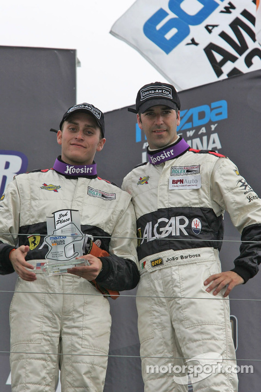 Podium: Jeff Segal et Joao Barbosa