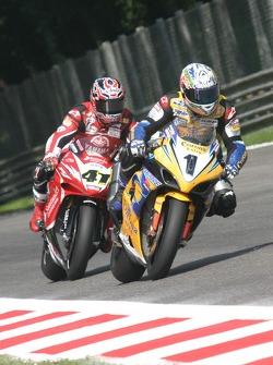 Troy Corser and Noriyuki Haga