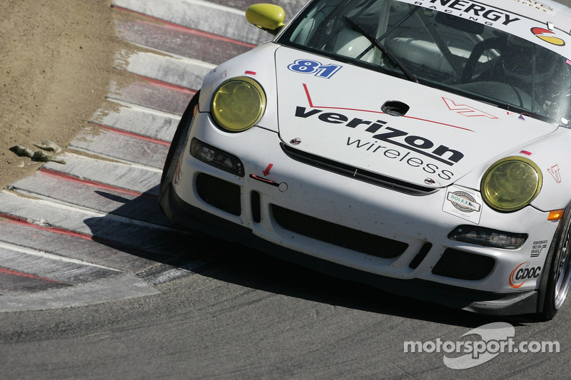 #81 Synergy Racing Porsche GT3 Cup: Steve Johnson, Robert Nearn