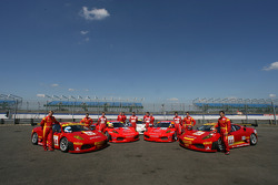 Photoshoot for Scuderia Ecosse