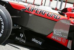 Midland MF1 Racing Superfund sponsorship