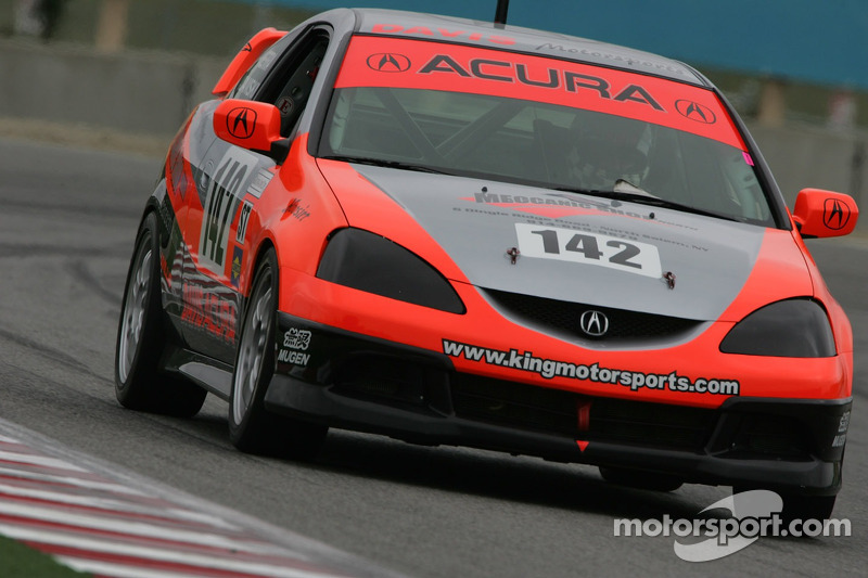 #143 Davis Motorsports Acura RSX - S: Tom Sutherland, Nick Leverone
