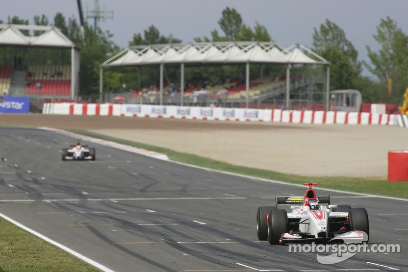 Alexandre Premat gagne la course