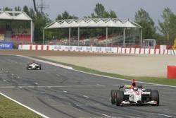 Alexandre Premat wins the race