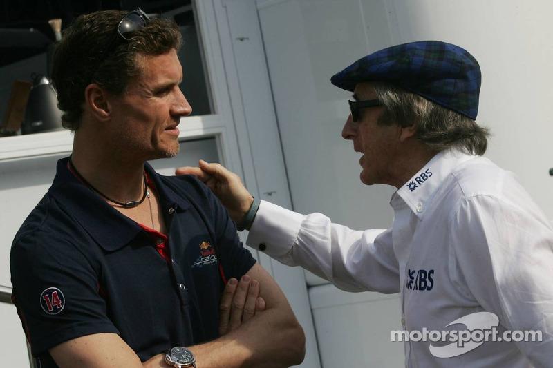 David Coulthard et Sir Jackie Stewart