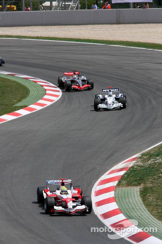 Ralf Schumacher devant Nick Heidfeld
